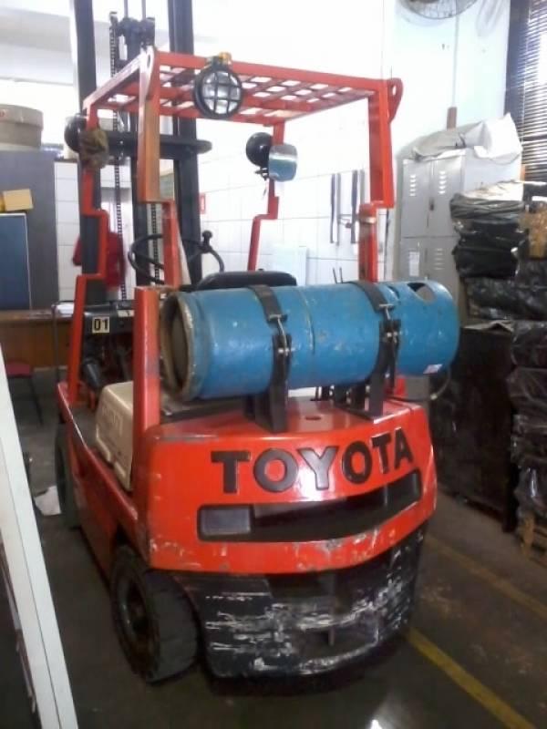 Manutenção de Empilhadeira Toyota Vila Lusitania - Manutenção de Empilhadeira Toyota