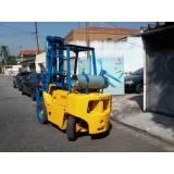 serviço de manutenção de empilhadeira a combustão Vila Ristori